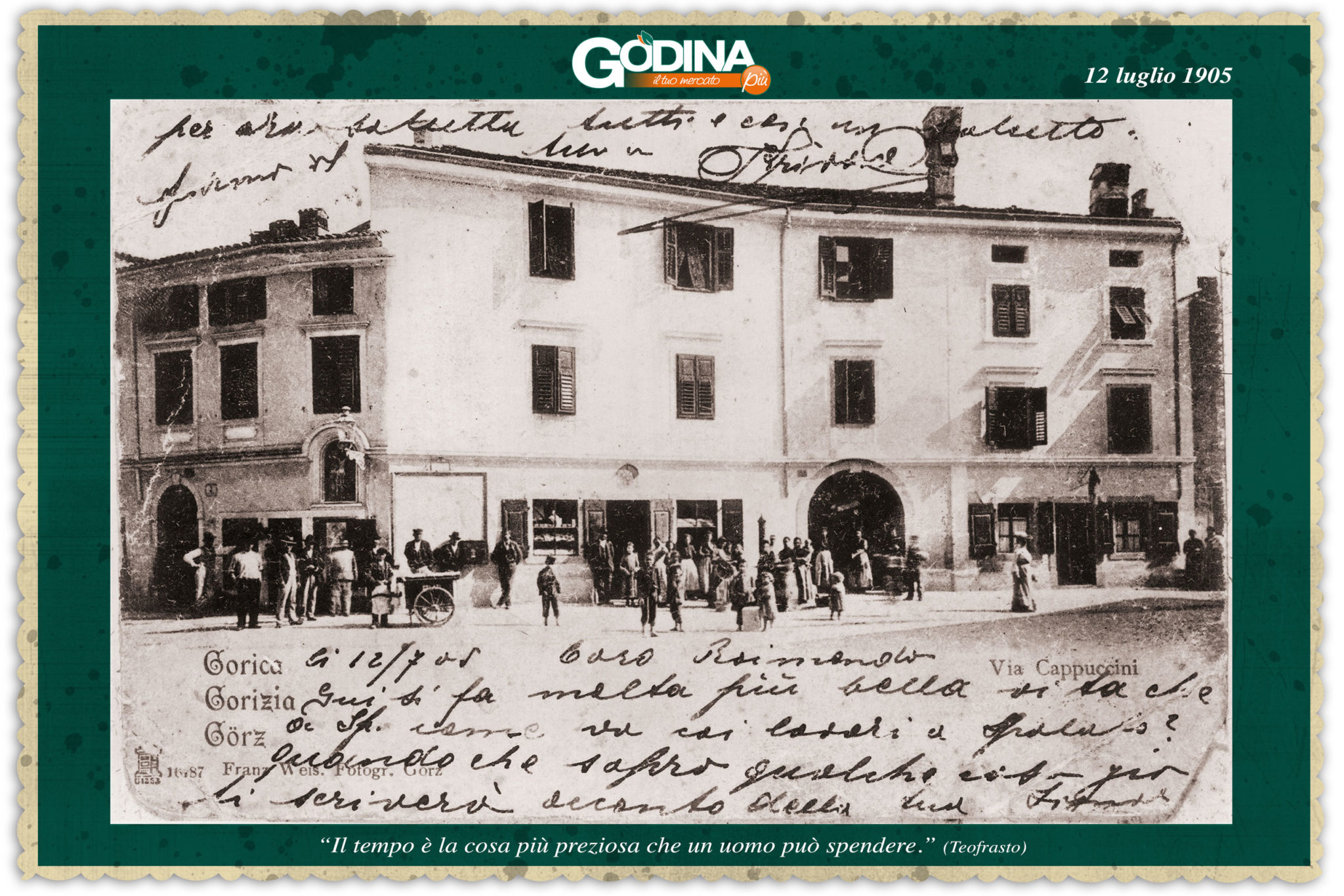 foto antica supermercato a Gorizia - Godina